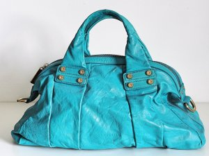 Coccinelle Bowling Bag light blue leather