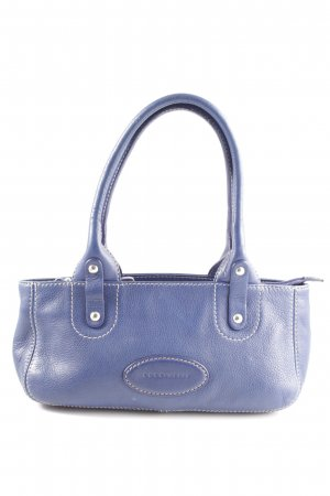 Coccinelle Handtasche blau Business-Look