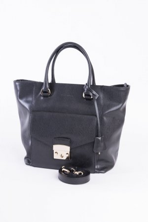 COCCINELLE - Handtasche aus Saffianoleder Schwarz