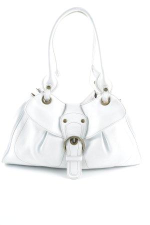 Coccinelle Handtasche beige-weiß Casual-Look