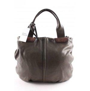 Coccinelle Handtasche dunkelgrün-braun klassischer Stil