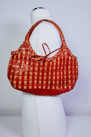 Coccinelle Carry Bag beige-red