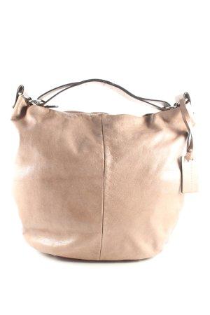 Coccinelle Handtasche hellbraun minimalistischer Stil