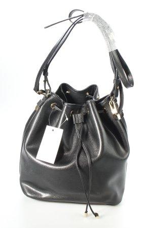 """Coccinelle Handtasche """"Kim Bucket Bag Smooth Leather Nero"""" schwarz"""
