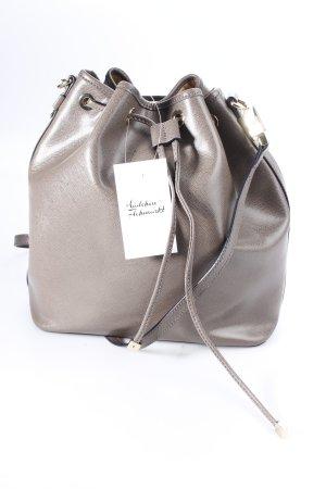 """Coccinelle Handtasche """"Maya Saffiano Bucket Bag Taupe"""" graubraun"""