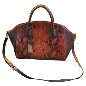 COCCINELLE Handtasche mit Schlangenleder-Prägung