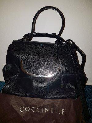 Coccinelle Handbag black-silver-colored