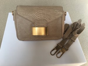 Coccinelle Crossbody bag beige leather
