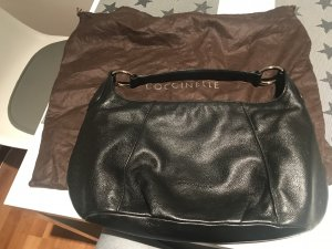 Coccinelle Handtasche, schwarz, Leder