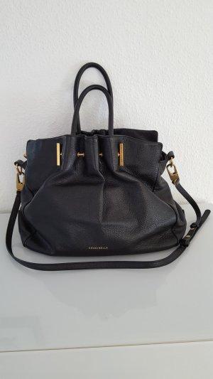 Coccinelle Handtasche schwarz wie Neu echtes Leder