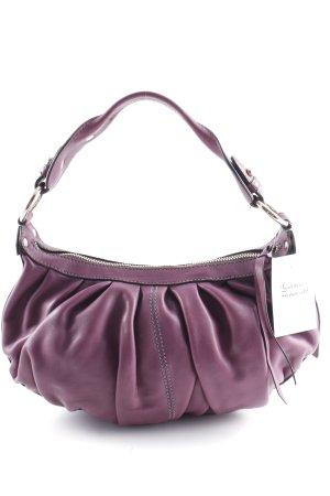 Coccinelle Handtasche violett Matt-Optik