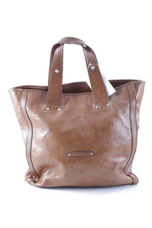 Coccinelle Carry Bag cognac-coloured casual look