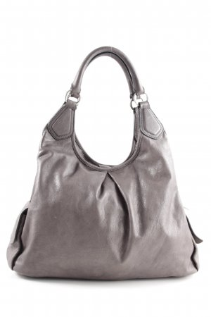 Coccinelle Sac Baril gris clair style d'affaires