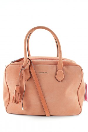 Coccinelle Henkeltasche orange Business-Look