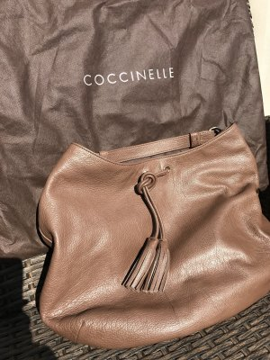 Coccinelle Handbag brown leather