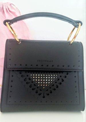 Coccinelle Lace Special Handle Bag Noir