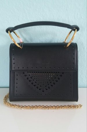 Coccinelle Lace Special Handle Bag Noir
