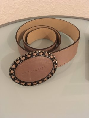 Coccinelle Leather Belt dusky pink
