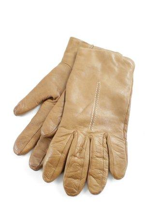 Coccinelle Lederhandschuhe braun klassischer Stil