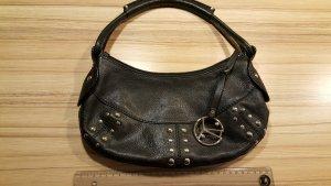 Coccinelle Shoulder Bag black leather