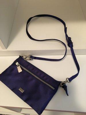 Coccinelle Mini Umhängetasche blau/lila