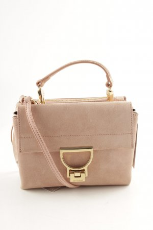 "Coccinelle Minitasche ""Arlettis Suede Crossbody Bag Rose"" apricot"