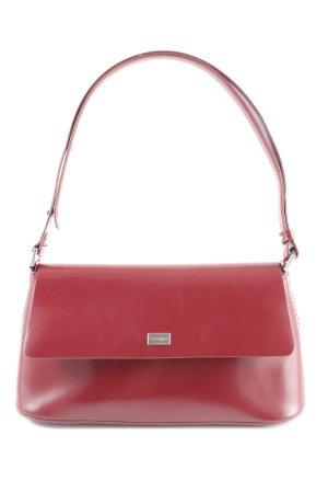 Coccinelle Mini sac rouge foncé style d'affaires