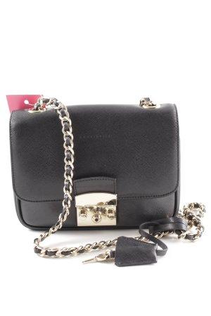 e0c9ec553553a Coccinelle Minitasche schwarz-goldfarben Elegant