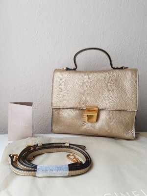 Coccinelle Handbag gold-colored leather