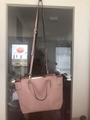 Coccinelle Pink Amy Echte Leder Tasche Italy