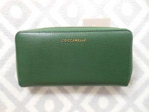 Coccinelle Wallet forest green leather