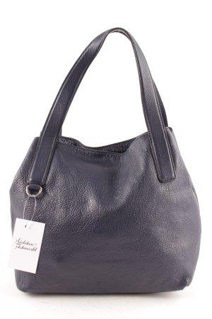 Coccinelle Schultertasche dunkelblau minimalistischer Stil