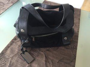 Coccinelle schwarze Lederhandtasche