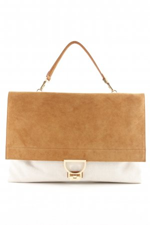 "Coccinelle Shopper ""Arlettis Tex Shoulder Bag Natural/Cuir"""