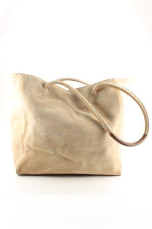 Coccinelle Shopper beige-braun minimalistischer Stil
