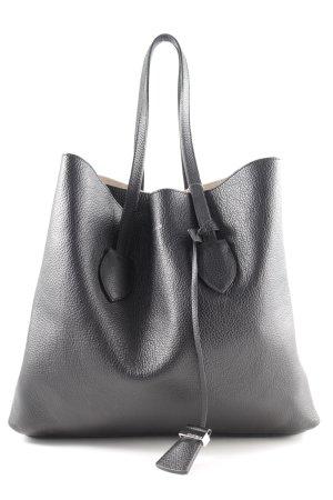 """Coccinelle Shopper """"Celene Logo Shoulder Bag Noir/Taupe"""" schwarz"""