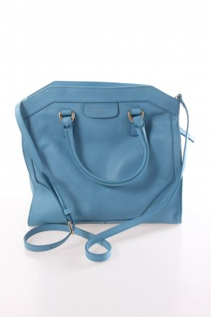 Coccinelle Carry Bag steel blue leather