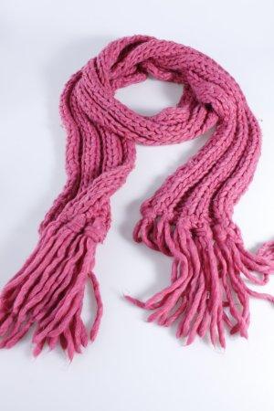 Coccinelle Strickschal pink