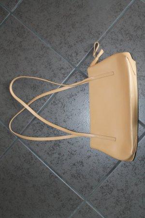 Coccinelle, süsse Handtasche in beige/ sand, Leder