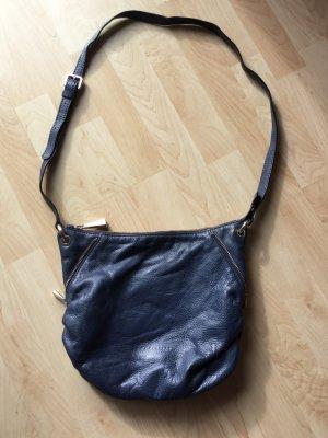 COCCINELLE Tasche blau Leder