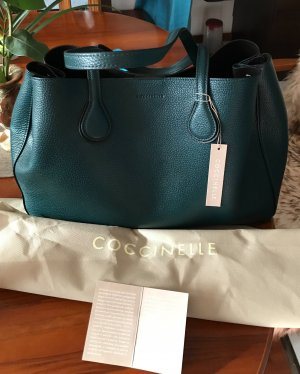 Coccinelle Tasche Echt Leder grün wie neu