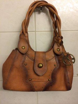 Coccinelle tasche Handtasche saddlebag Leder