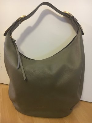 Coccinelle Hobos green grey leather