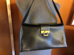 Coccinelle Tasche Leder schwarz, aktuell, wie neu