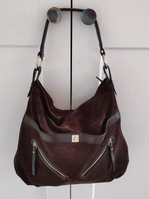 Coccinelle Tasche Shopper Wildleder Handtasche Ledertasche
