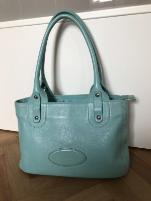 Coccinelle Handbag turquoise leather
