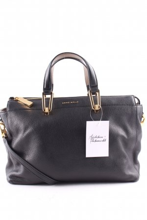 """Coccinelle Tote """"Liya Leather Tote Black"""" zwart"""