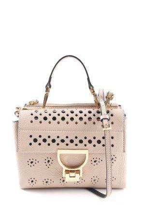 "Coccinelle Bandolera ""Arlettis Cachemire Foro Handbag Pivoine"" beige"