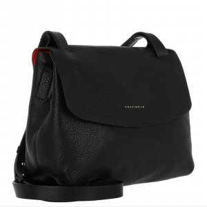 Coccinelle Crossbody bag black leather