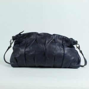 Coccinelle Crossbody bag dark blue leather